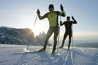 Skate Ski Rental: Adult one day rental at Mt. Spokane Nordic Area - Selkirk Lodge