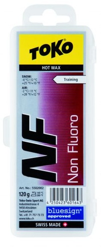TOKO Non Fluoro (NF) Red 120g.